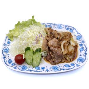 知床ポーク生姜焼き定食