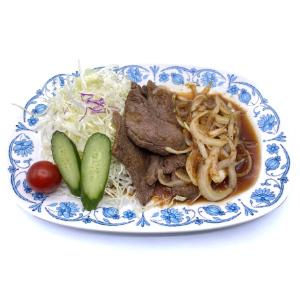 鹿肉生姜焼き定食